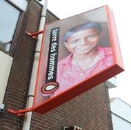 Logo van stichting Terre des Hommes Haarlemmermeer